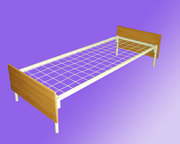 Двухъярусные кровати для рабочих,  металлические кровати для лагеря