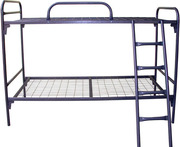 кровати со спинками ДСП,  кровати для турбаз,  кровати металлические