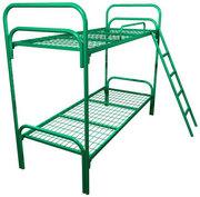 Металлические кровати 1-ярусные,  2-ярусные для рабочих,  лагеря,  оптом