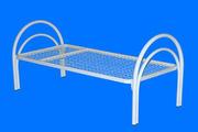 Кровати металлические оптом для строительных времянок,  бытовок