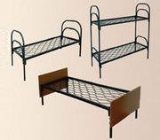 Двухъярусные металлические кровати для общежитий от производителя. опт