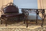 Кованная мебель и предметы интерьера для дома,  дачи и кафе