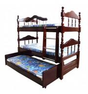Кровати одно,  двух,  трехъярусные;  прихожие,   шкафы,  комоды,  столы  из дерева. Матрасы. Любых размеров.