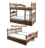 Кровати одно,  двух,  трехъярусные: шкафы,  комоды из дерева. Матраcы