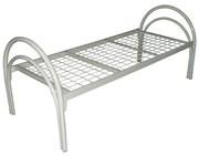 Металлические кровати с ДСП спинками для пансионатов,  кровати дёшево.