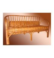 Плетеная мебель из ивы.