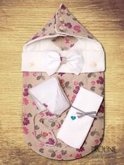 Конверты на выписку из льна Futurmama by NASIMO,  оригинальные,  летние,  зимние,  демисезонные,  всесезонные. Детские товары от европейского производителя
