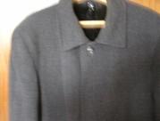 мужское пальто демисезонное-зимнее из драпа (ратина)